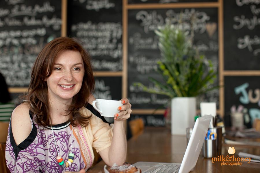 Steph's Blogger Portait Photos at Rozelle's Rosebud Cafe in Sydney