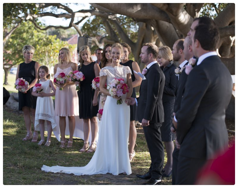 Dunbar House, Watsons Bay, a glorious wedding.