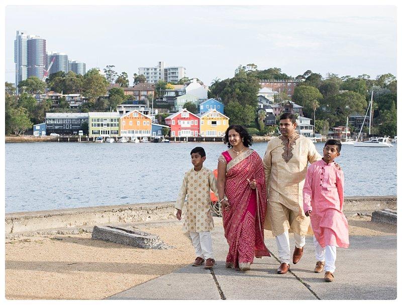 Vasan, Radhika, Avanesh and Kartik
